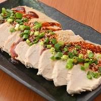 中華で定番のよだれ鶏も食べれます!