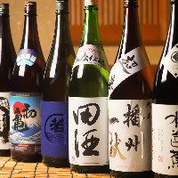 全国各地の日本酒や焼酎が飲めるお店です!