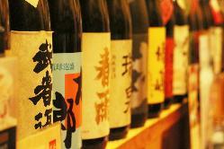 日本酒・焼酎の種類は100種類以上!