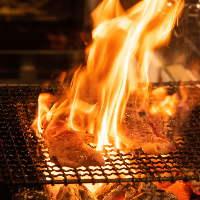 五感で愉しむ炉端焼き。