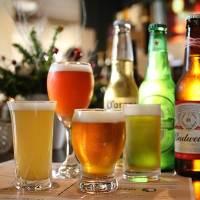 クラフトビールを多数ご用意しております!