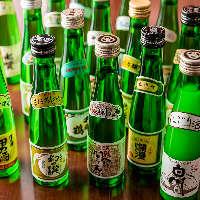【お酒充実】 地酒など日本酒を始めドリンクを多彩に揃えました