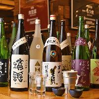 地酒約20選!北海道から四国まで、多彩な飲み口を楽しんで。