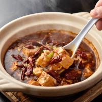 本格四川料理はスパイスの効いたピリッとした辛味が癖になります