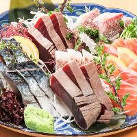 魚料理 680円~ 日替わりの美味しいお魚をご提供♪