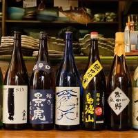 日本酒にこだわってます!