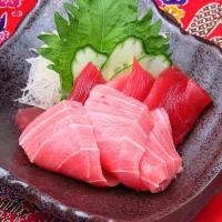 沖縄といえばマグロ。おいしいマグロを楽しめます。
