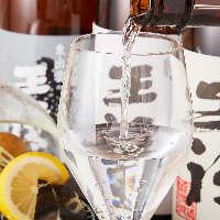 【日本酒】 全国各地の厳選地酒を種類豊富に取りそろえました