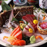 新鮮な食材を使用した季節の料理をぜひともご堪能くださいませ。