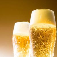飲み放題は単品でのご注文も可能。ちょい飲みなどぜひご利用を♪