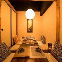 新横浜でも随一の広さを誇る店内。全席完全個室にてご案内可能!