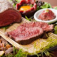 インパクトのあるお肉料理なら川越原人!