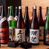 ◆料理を引き立てる厳選日本酒一合490円~◆