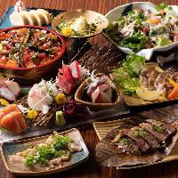 食材からこだわった和食料理の数々♪