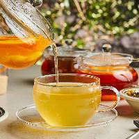 オーガニックコーヒーや高品質の紅茶など充実のカフェメニュー