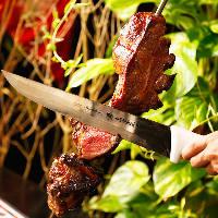 炭火でじっくりと焼き上げた素材にこだわったお肉あり!