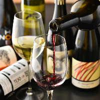 オーガニックワインを多数ご用意しております♪