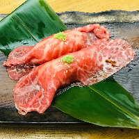 牛炙り寿司は必食! とろける美味しさは絶品!