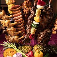 本格ブラジリアンシュラスコ♪肉バルならでは肉料理の数々♪