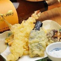旬食材を天ぷらでご提供!季節の変化を感じてください。