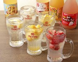 【サワー】 フレッシュな味わい『凍結サワー』は果実がゴロゴロ