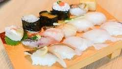 サクッと、お寿司で一杯いかがですか