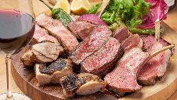 【極上!肉の5点盛り】 めくるめく極上肉の美味しさを堪能♪