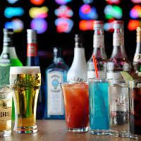 【充実ドリンク】 お得な飲み放題!幅広いお酒をご用意しました