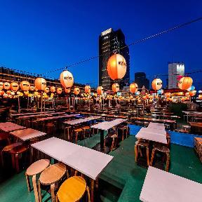 新宿ビアガーデン 天空の街 アジア横丁の画像