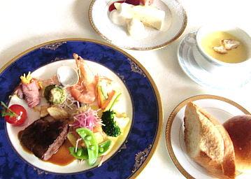 笹川記念会館 レストラン菊の画像