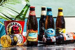 ハワイクラフトビールから南国トロピカルカクテルなど豊富