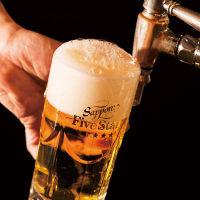 注ぎたての最高の状態でビールを飲んで頂きたい為、1杯4秒で提供