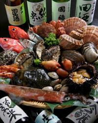 近海にて獲れ立て直送の海鮮の鮮度は函館ならでは!