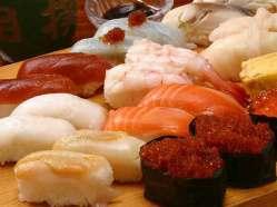 寿司だって食べ放題!! 恵大苑の名物食べ放題宴会!