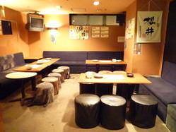 個室は最大約30名様まで収容可! 2次会に最適です!