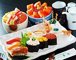 小樽ならではの、新鮮な握り、丼物も豊富に取り揃えております。