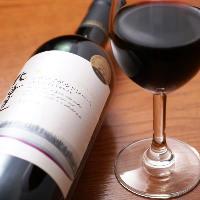 道産ワインも充実!ワインに良くあうお料理なども盛り沢山。