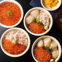 当店の名物!海鮮丼 海の幸を満喫ください!