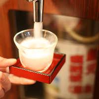 プラス500円で「吟風樽生生酒」を飲み放題に追加可能♪