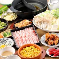 【豚しゃぶ&豚すき】食べ放題が始まりました!ぜひご利用あれ!