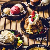 「テラ・マーテル」野菜のプラトー 新得ラクレットのソース