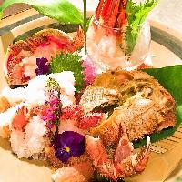 旬の食材を美味しく仕上げた創作和食!