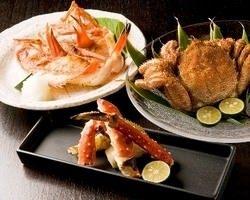 ■北海道料理■ 鱈場蟹・毛蟹・きんきなどもご用意(要予約)。