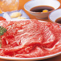 鮮度抜群の牛肉は霜降りでも あっさりとしています