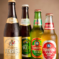 本場!青島ビールご用意しております