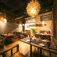 ◆和モダン空間◆ 華やかな店内は女子会・合コン・飲み会に◎