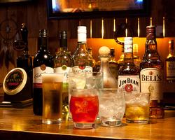 種類豊富な飲み放題 コース内容はご要望に応じます。