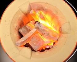 【炎と香り】 やっぱり炭火焼きが美味い!