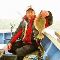 店主自ら釣ってきた魚も提供。 鮮度は抜群です!