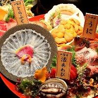 【飲放付個室宴席】 圧倒的コスパの絶品魚介付宴席3,500円~